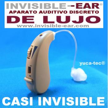 INVISIBLE-EAR® DE LUJO Aparato Auditivo Sordera Pequeño Discreto