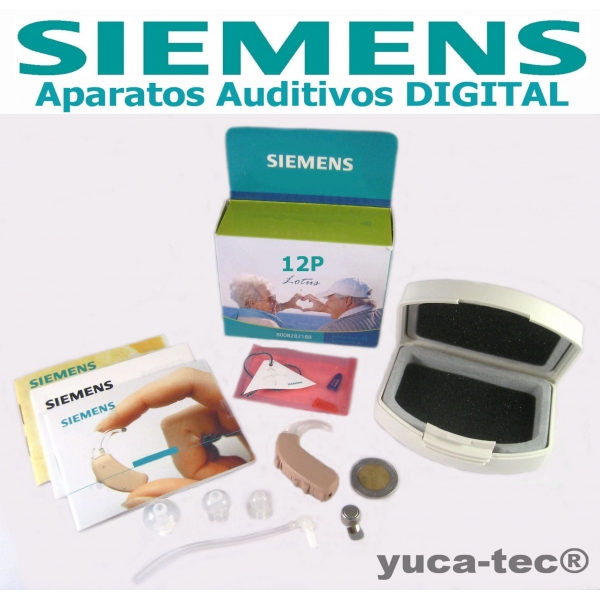SIEMENS Aparato Auditivo Curveta DIGITAL Lotus 12P